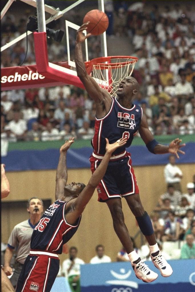 michael jordan, olympics, 1992, dream team, sneakers