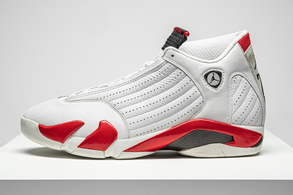 """Air Jordan 14 """"Chicago"""", sneakers, michael jordan, 1998"""