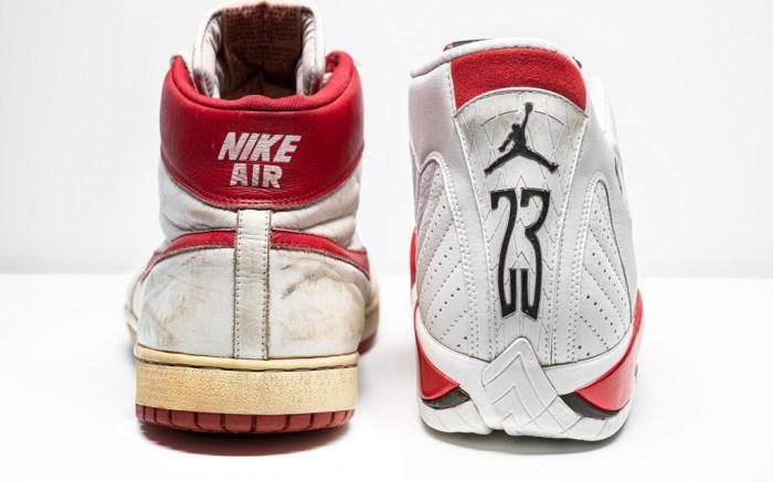 sneakers, michael jordan, christies, stadium goods, air jordan