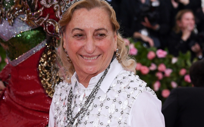 Miuccia Prada Costume Institute Benefit celebrating the opening of Camp: Notes on Fashion, Arrivals, The Metropolitan Museum of Art, New York, USA - 06 May 2019