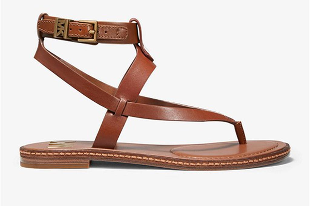 michael kors sale, michael kors sandal, leather sandals
