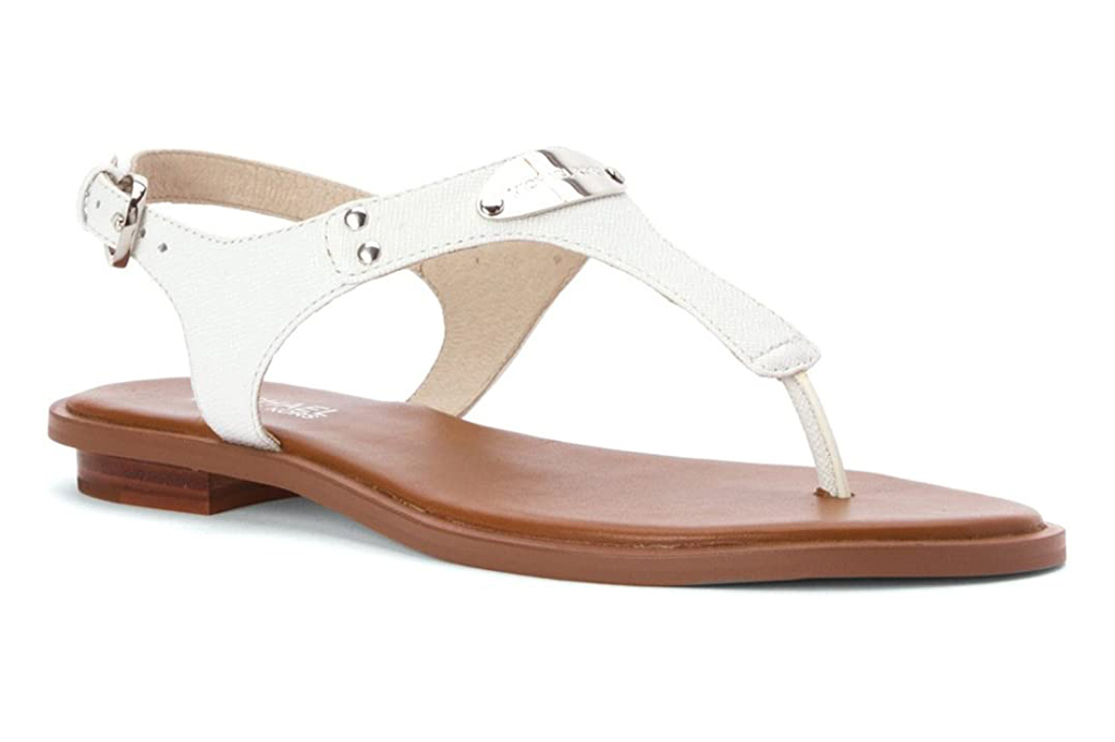 sandals, Michael Michael Kors MK Plate Thong
