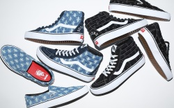 Supreme x Vans 'Denim Hole Punch'