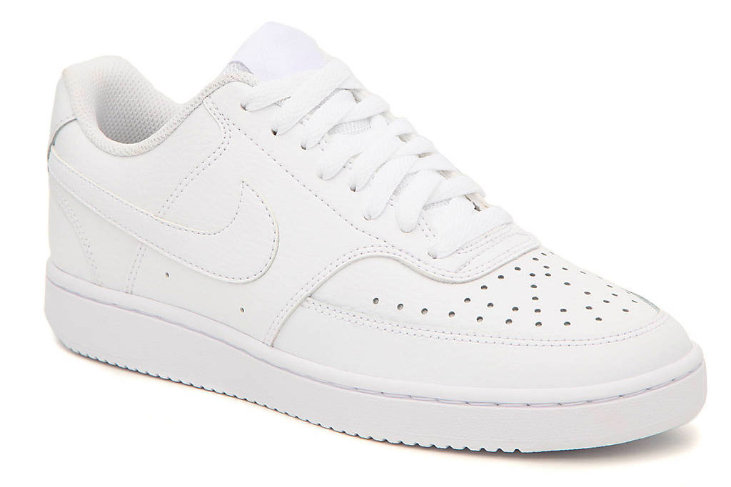 nike, court vision, sneakers, white