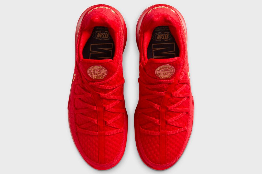 lebron james, nike, sneaker, titan, red, shoes