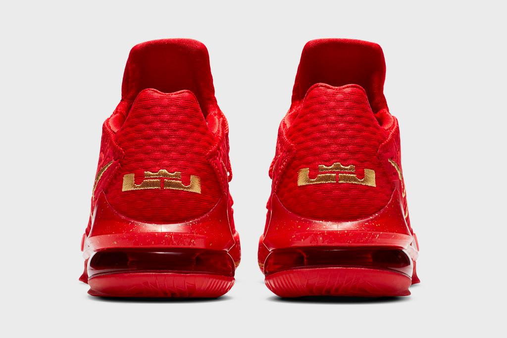 Nike LeBron 17 Low 'Titan': Release