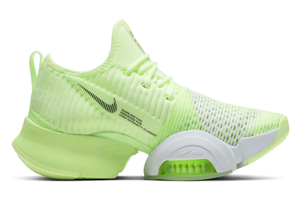 nike, neon yellow, sneakers, training shoes