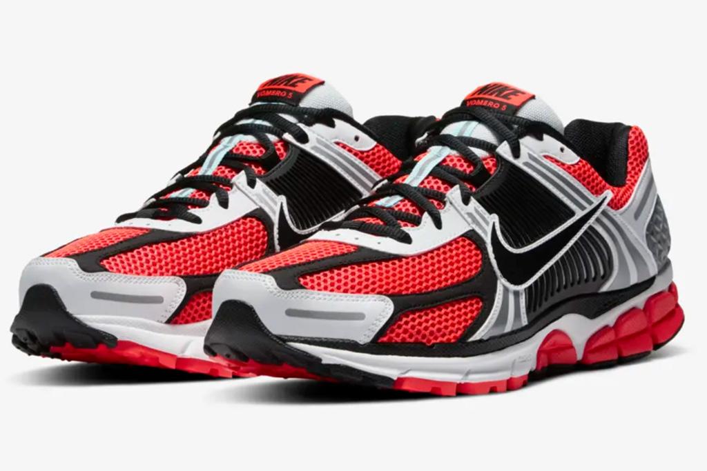 """Nike Zoom Vomero 5 """"SE,"""" nike, red, zoom vomero, sneaker, black, white"""