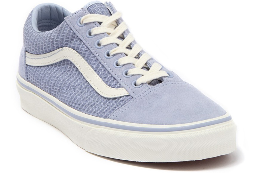 vans old school sneakers, nordtrom rack sale, blue vans
