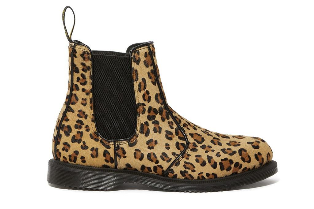 nordstrom rack, dr. martens leopard print, leopard print chelsea boots
