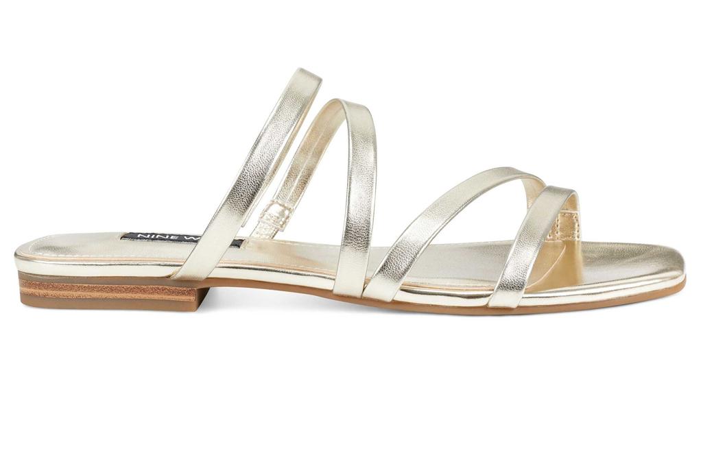 Nine West, flat sandals