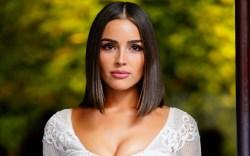Olivia Culpo, white dress,