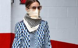 Olivia Palermo face mask