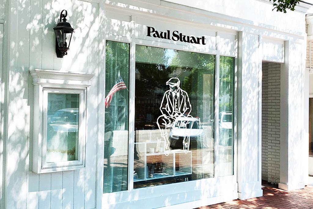 Paul Stuart Hamptons Store