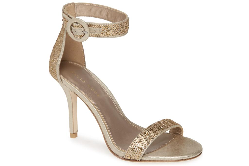 Pella Moda, gold sandals