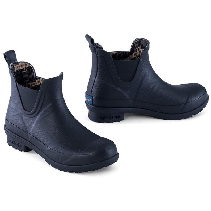 Pendleton-Black-Rain-Boots