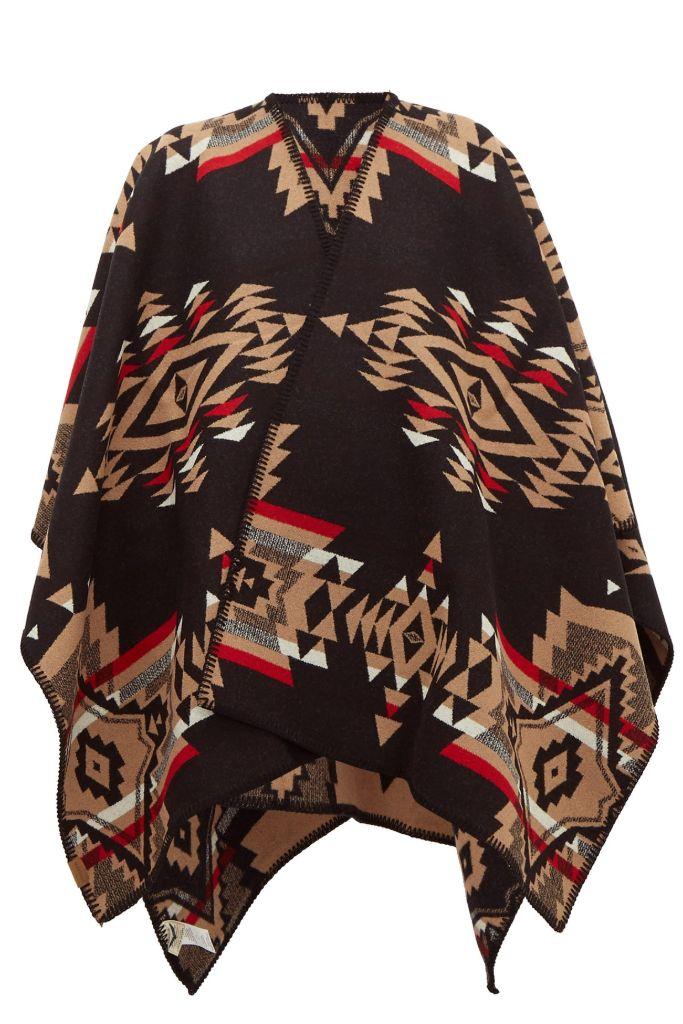 pendleton, cape, pendleton cape, fall 2020 fashion trends, trends, coats