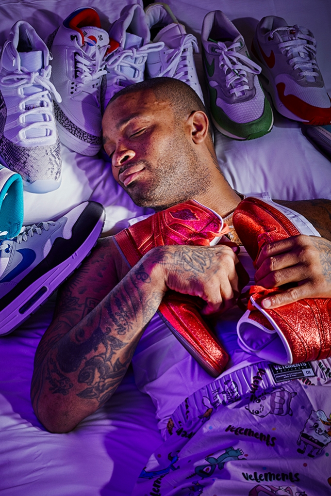 PJ Tucker, Houston Rockets, sneakers, basketball, fashion
