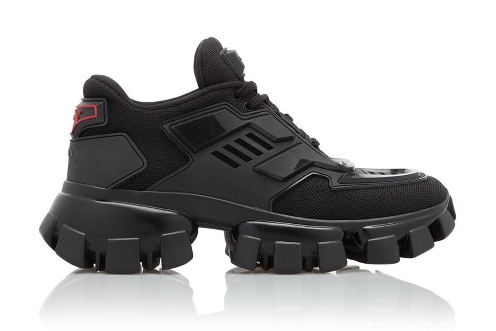 Prada, combat sneakers