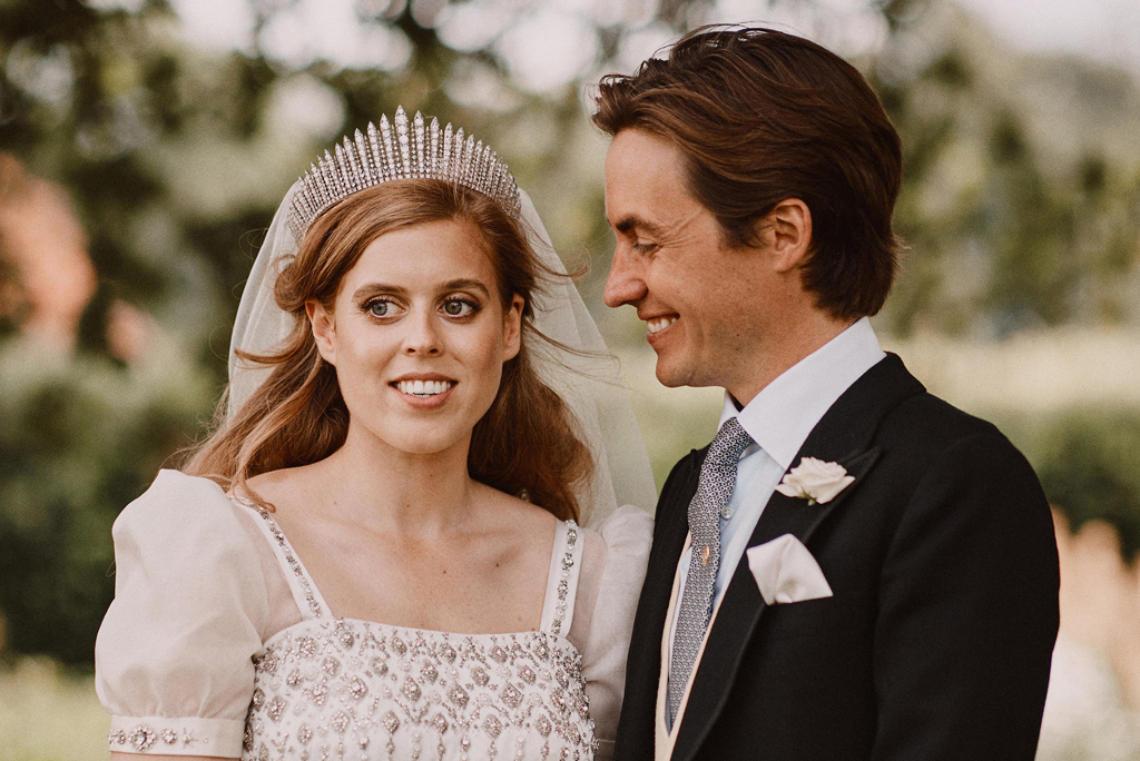 Princess Beatrice Wedding Dress Was Gift From The Queen Not