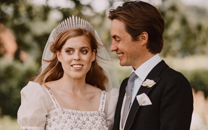 Princess Beatrice, royal wedding, married