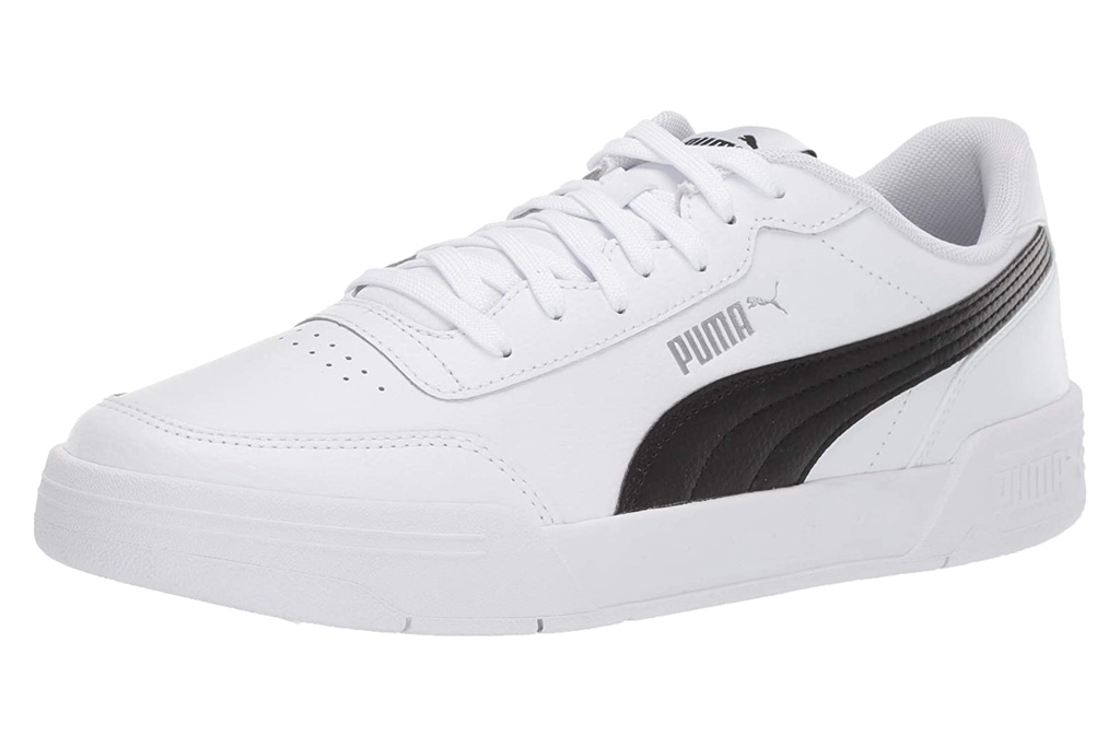 puma, sneakers, black white