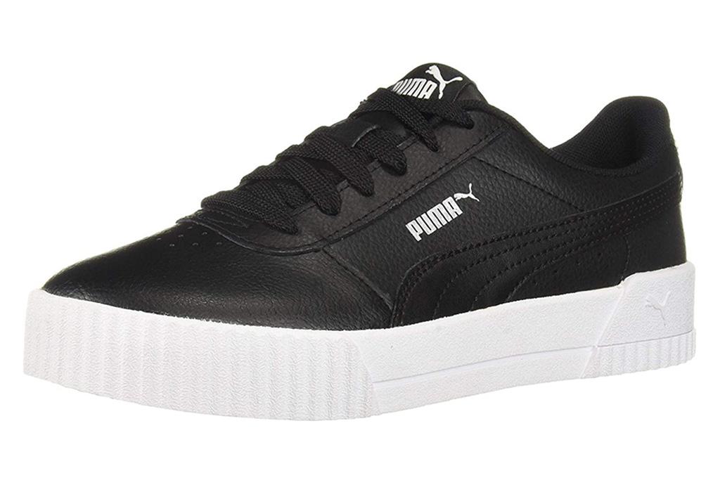 puma, black white, sneaker, carina
