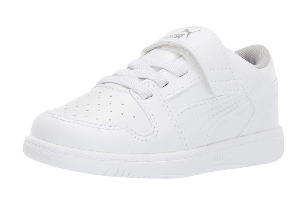 puma, white sneakers, girls, toddlers