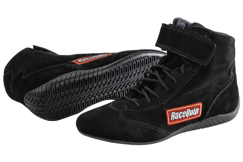RaceQuip Black SFI Race Shoe