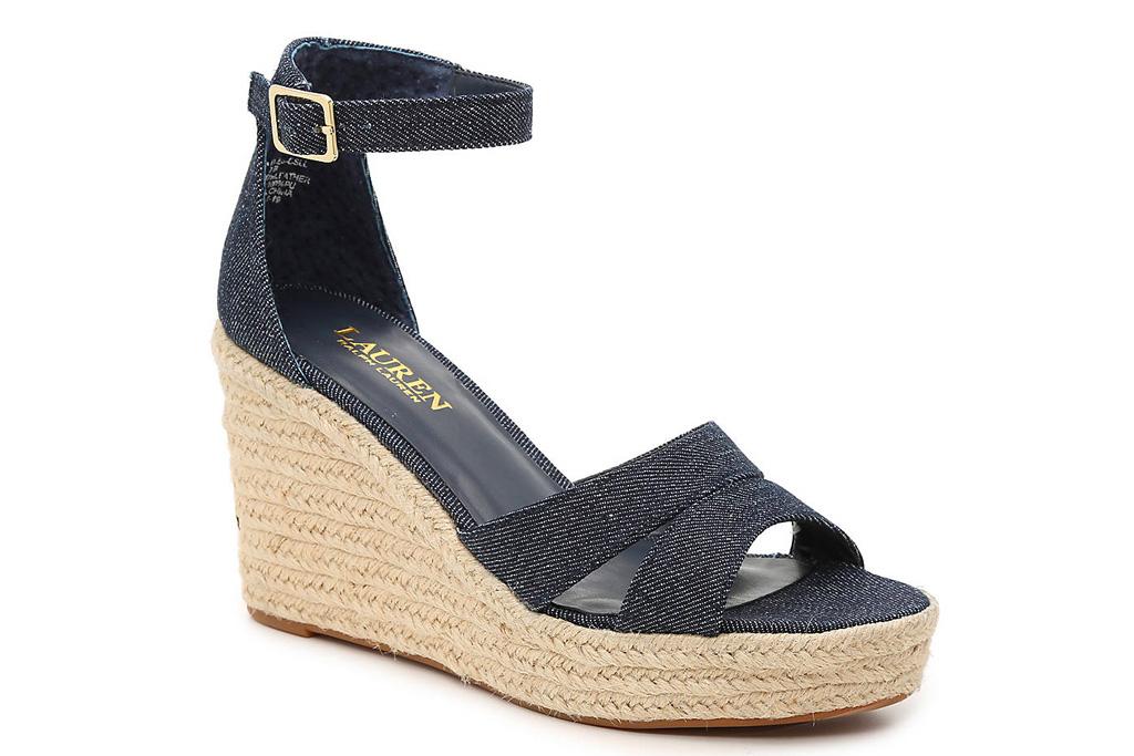ralph lauren, sandals, wedges, espadrilles