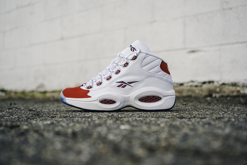 Alfombra anillo Joven  Reebok Question Mid OG 'Red Toe': Release Date + Price – Footwear News