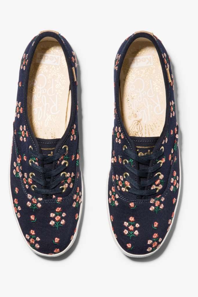 Rifle Paper Co., keds, sneakers