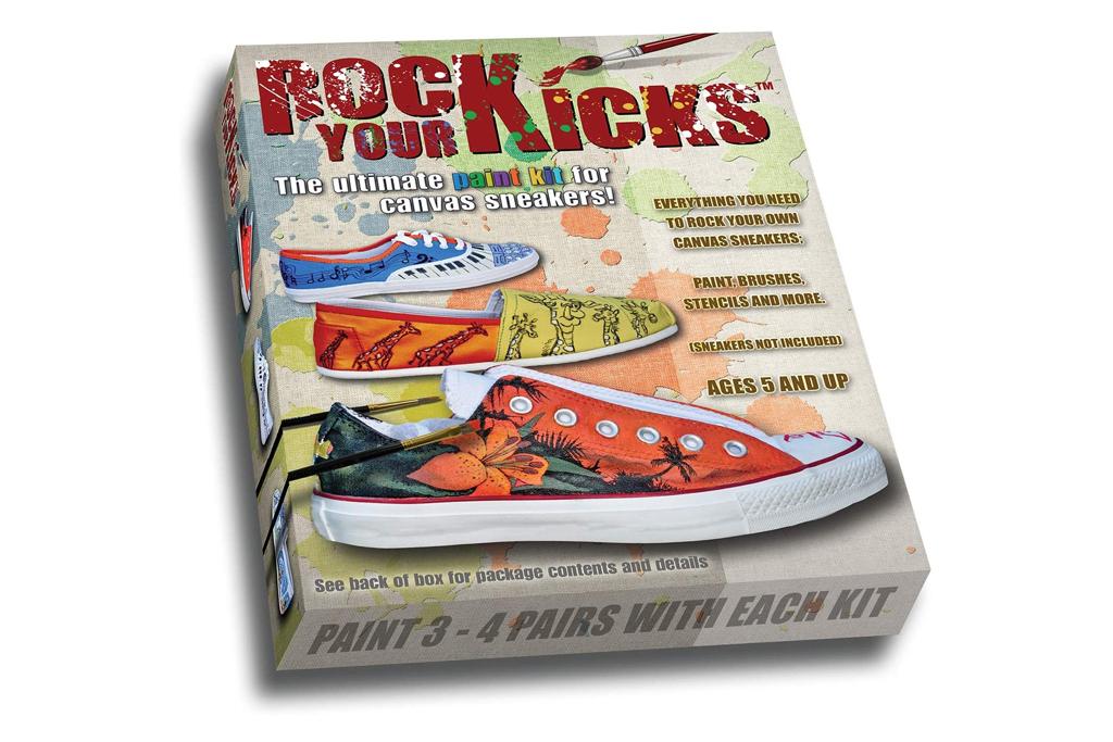 rock your kicks, sneaker customization kit