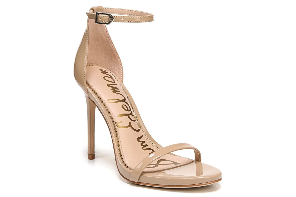 sam edelman, nude heels