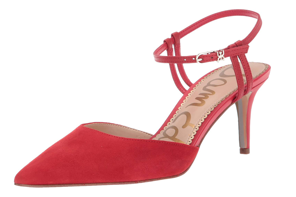 sam edelman, red heels