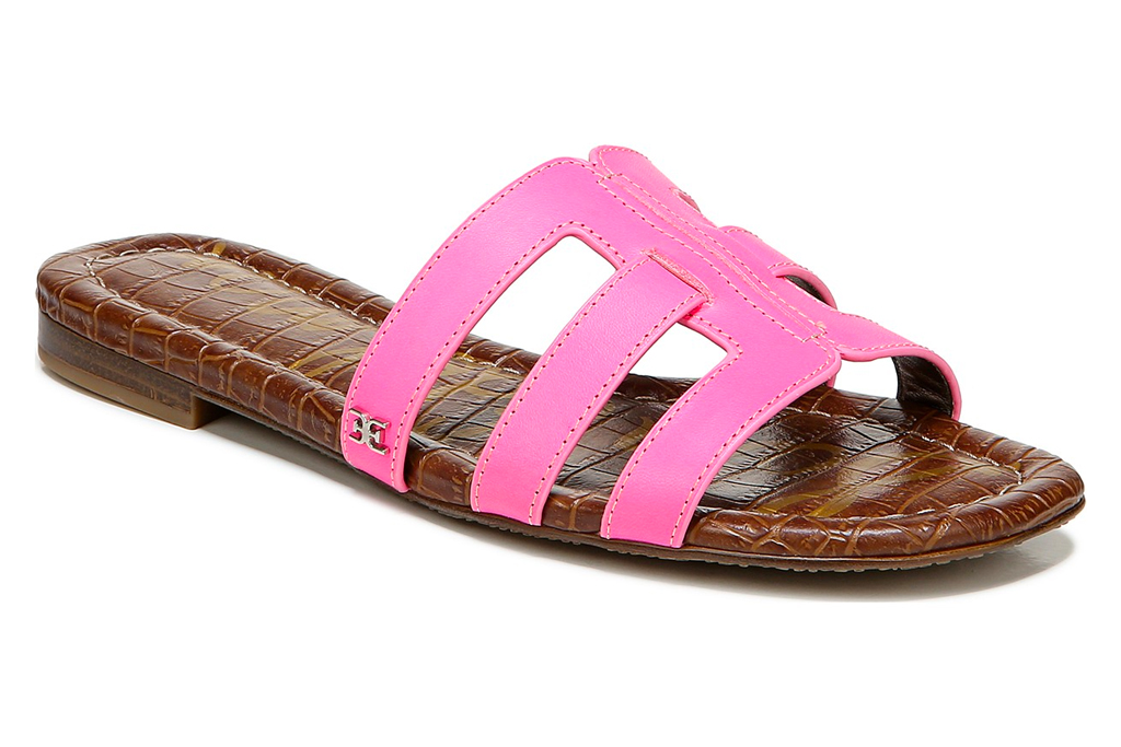 sam edelman, slides, pink, sale, macy's