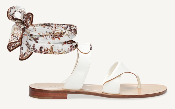 sarah flint, hidden garden grear sandal, limited edition greer sandal