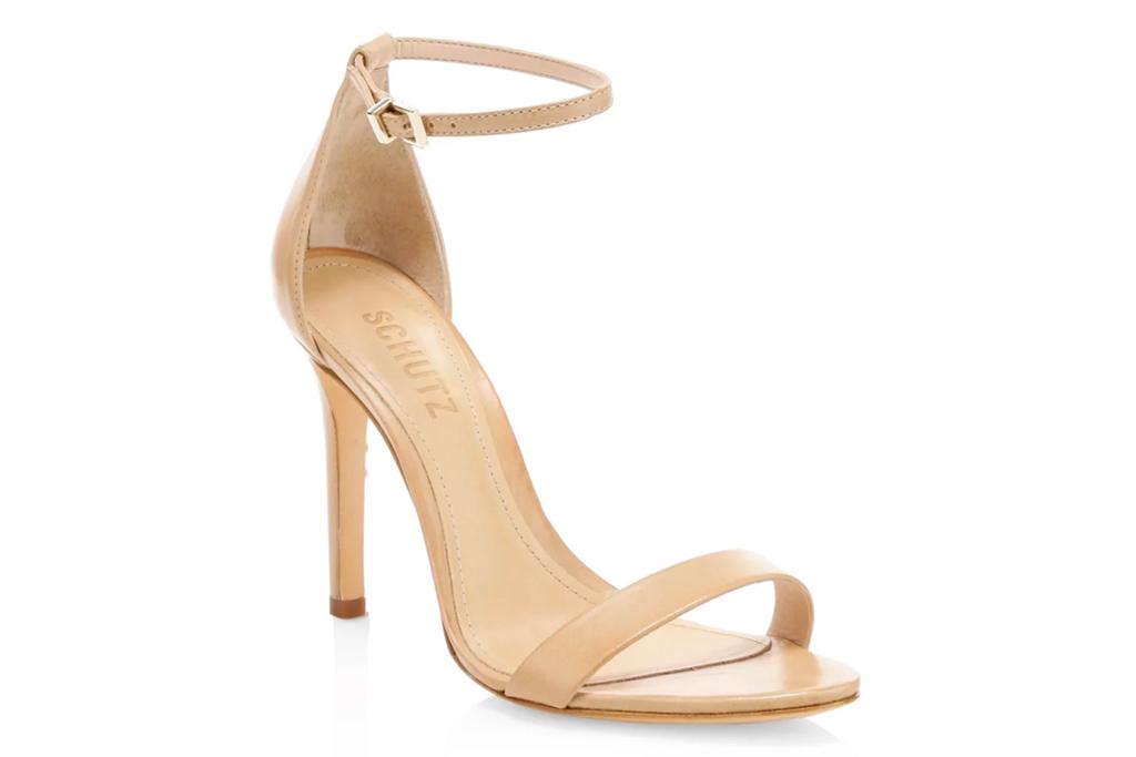 schutz, nude heels, cadey