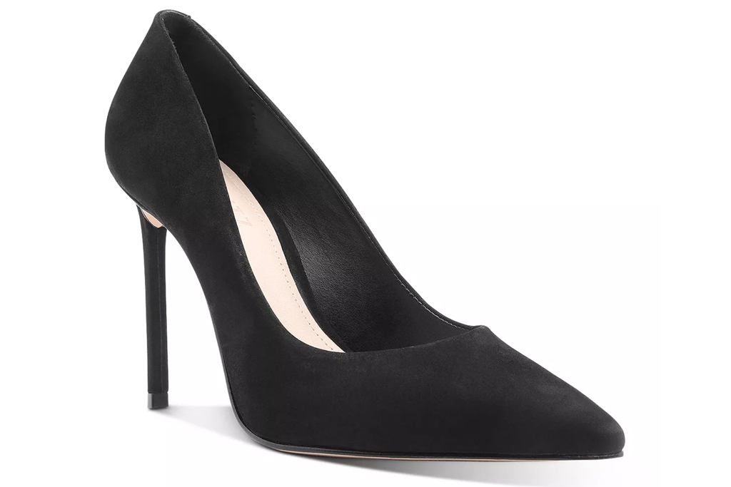 schutz, pumps, black suede
