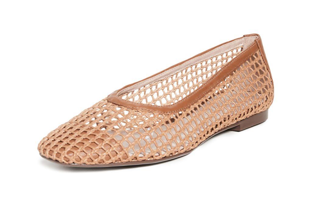schutz, schutz shoes, fall 2020 fashion trends, ballet flat