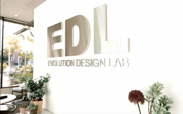 Evolution Design Lab Office Wall Sign