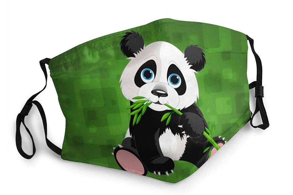 seapig, panda, face mask