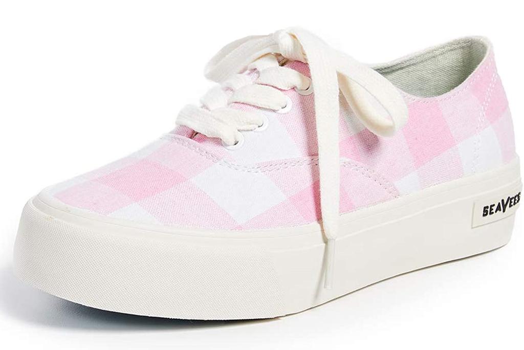 SeaVees, pink gingham