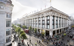 Selfridges, store, london