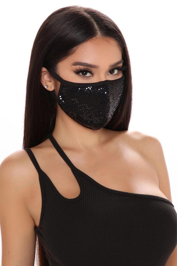 sequin face mask, fashion face mask, etsy face mask
