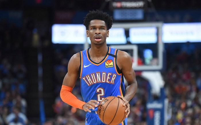 Shai Gilgeous-Alexander NBA Oklahoma City Thunder