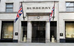 Burberry shut in locked-down London, as