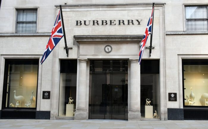Burberry shut in locked-down London, as exclusive shops and hotels shut and are boarded up in closed-down London, as break-in fears grow and stores anticipate civil unrest.Coronavirus Lockdown, London, UK - 08 Apr 2020Burberry shut in locked-down London, as exclusive shops and hotels shut and are boarded up in closed-down London, as break-in fears grow and stores anticipate civil unrest. The lockdown continues for the Coronavirus (Covid 19) outbreak in London.