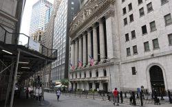 The New York Stock Exchange on