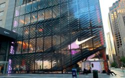 The Nike store on Fifth Avenue
